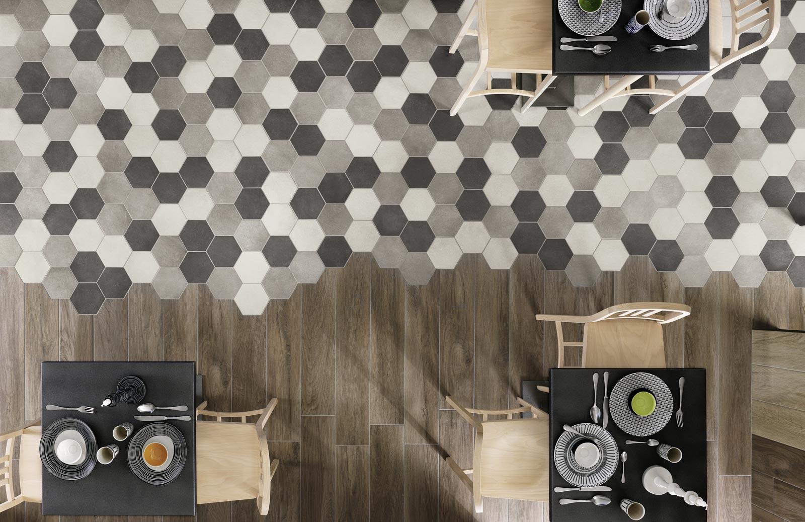 Gres Porcellanato Prezzi Bassi pavimenti gres porcellanato piastrelle esagonali prezzo più