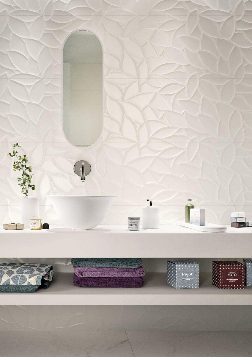 Listino Marazzi Ceramiche.Marazzi Essenziale Flora 3d 40x120 Cm Mmfp
